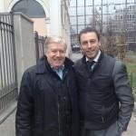 Con Claudio Lippi