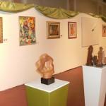 Esposizione quadri e sculture