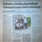 Articolo Volontari Albano