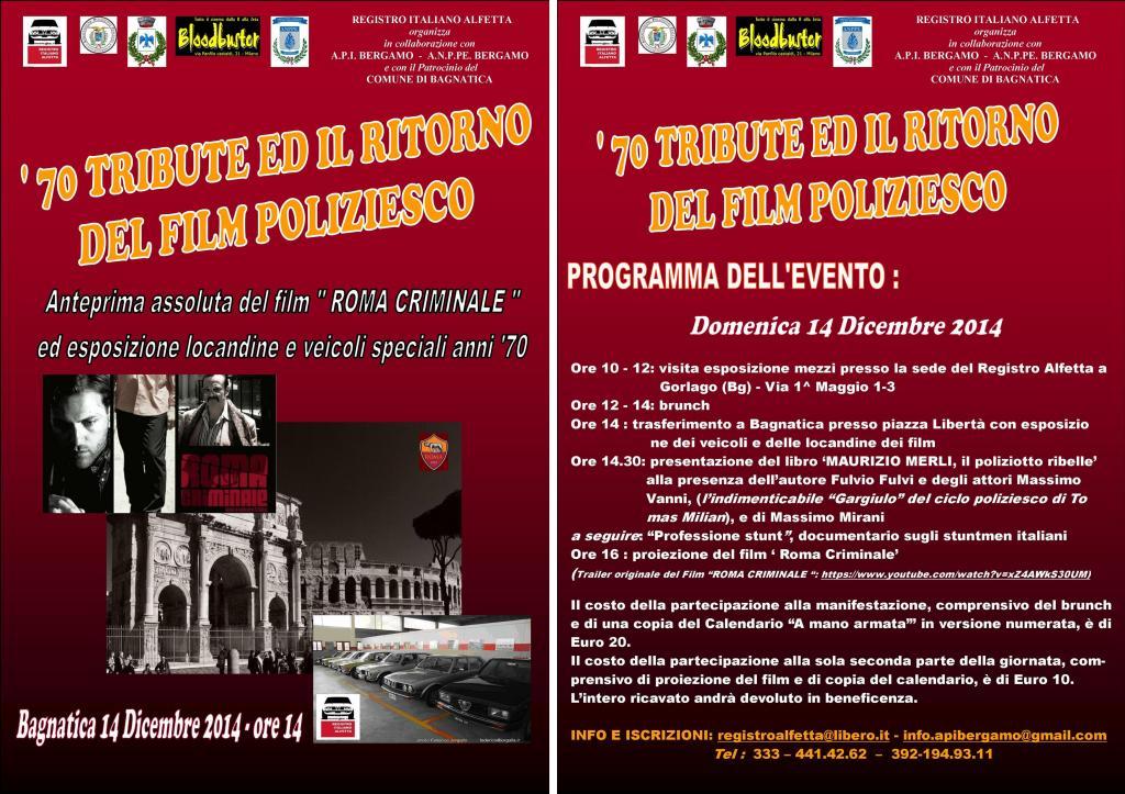 Evento Roma Criminale 2
